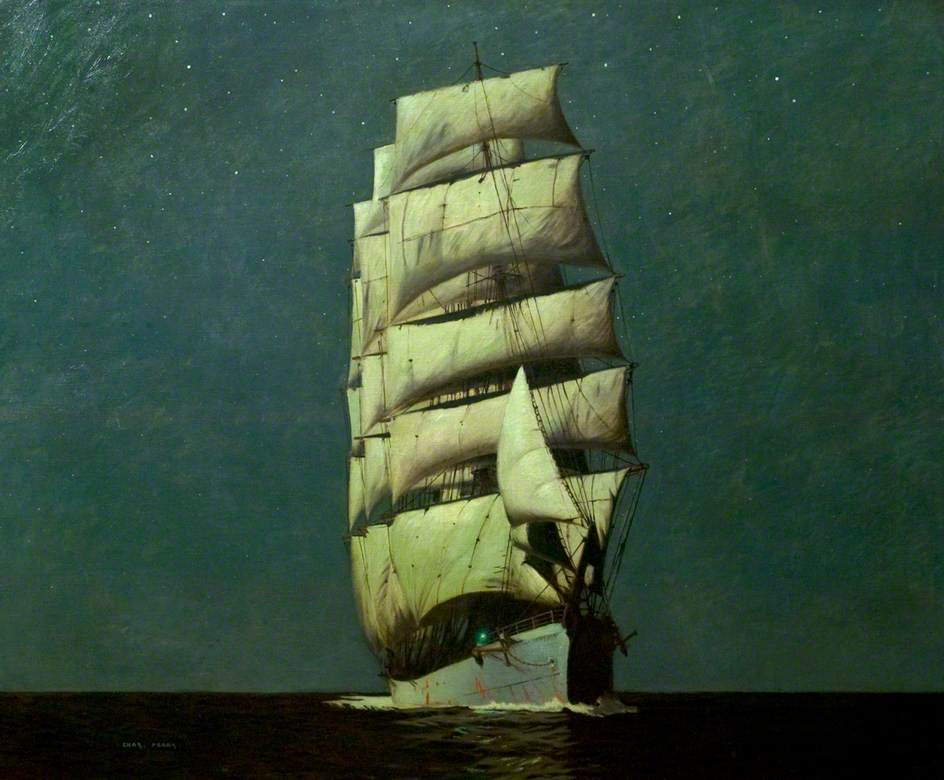 Moonlight Barque by Charles Pears.jpg