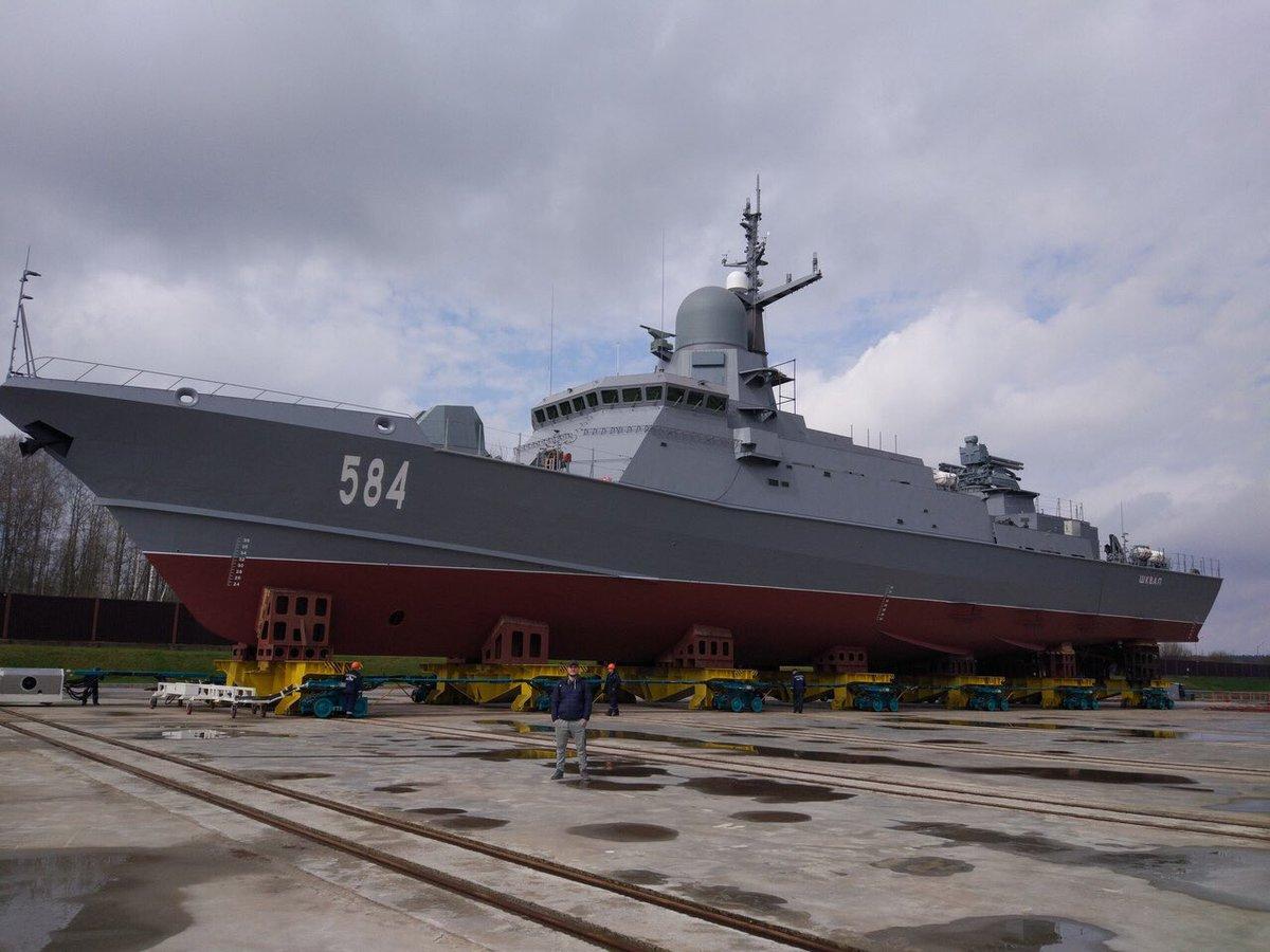 Análisis Militares: En mayo se bota otra corbeta proyecto 22800 ...