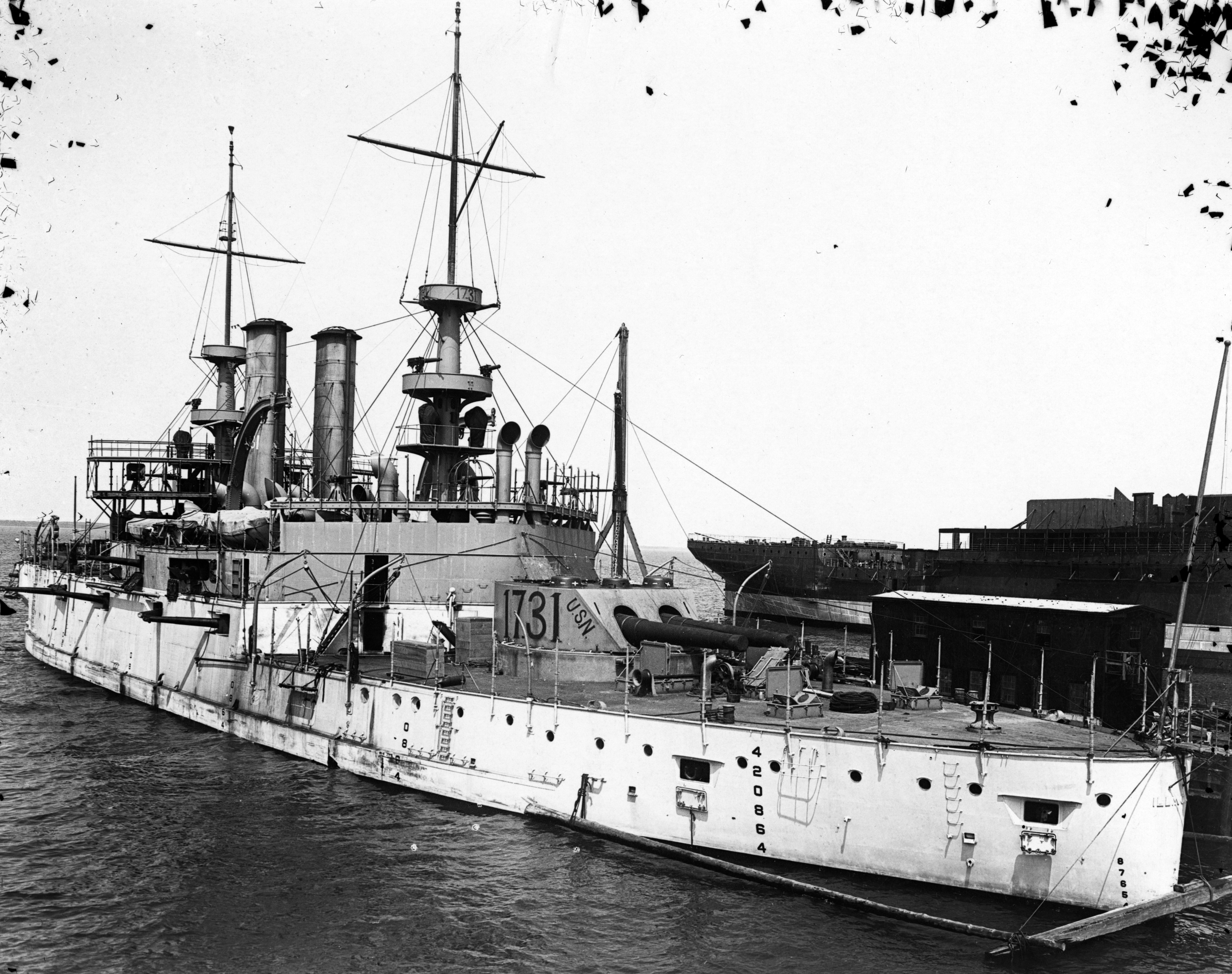 Illinois in 1901 after her sea trials.jpg