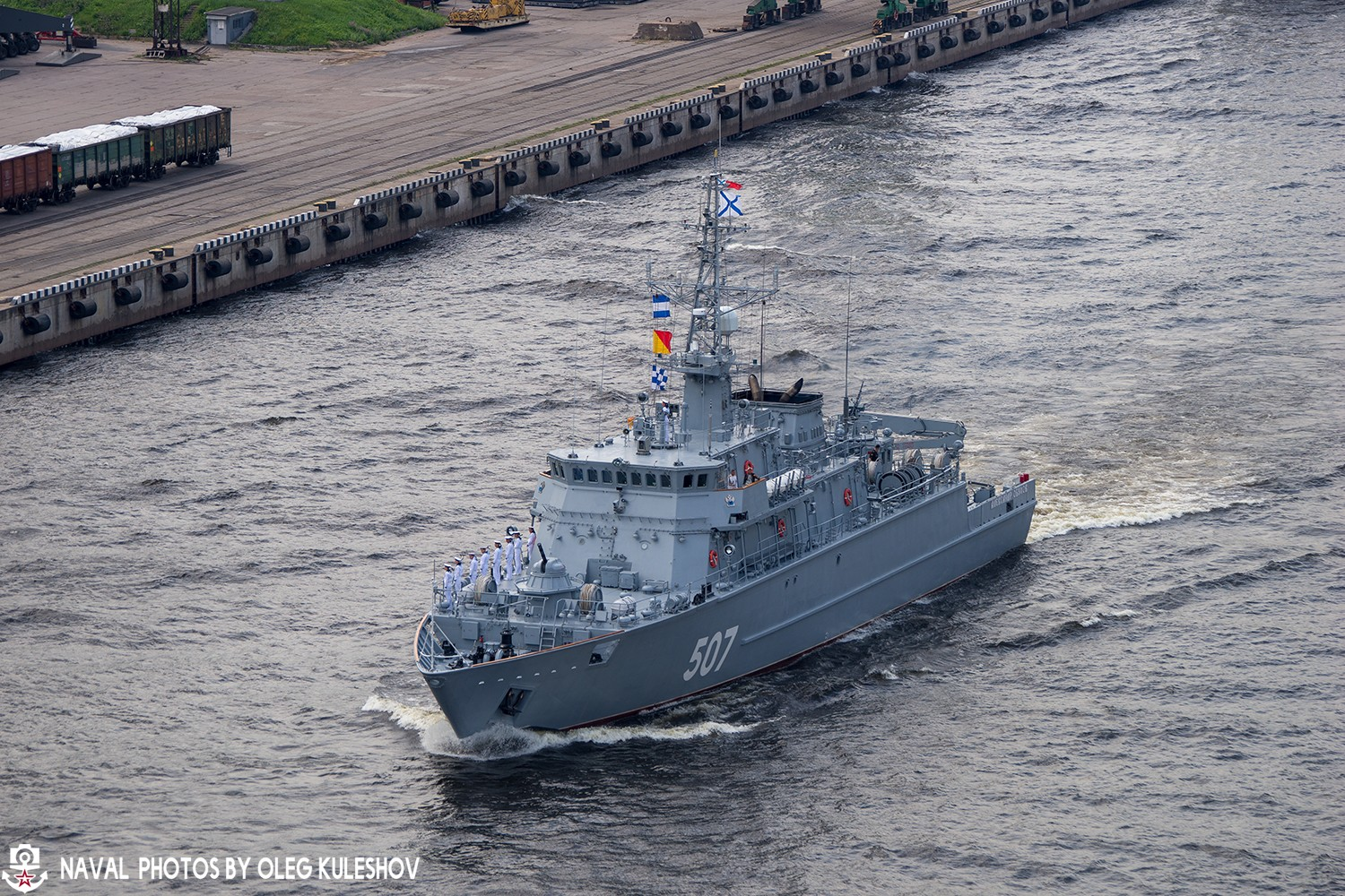 Minesweeper Ivan Antonov went to the factory running tests 71