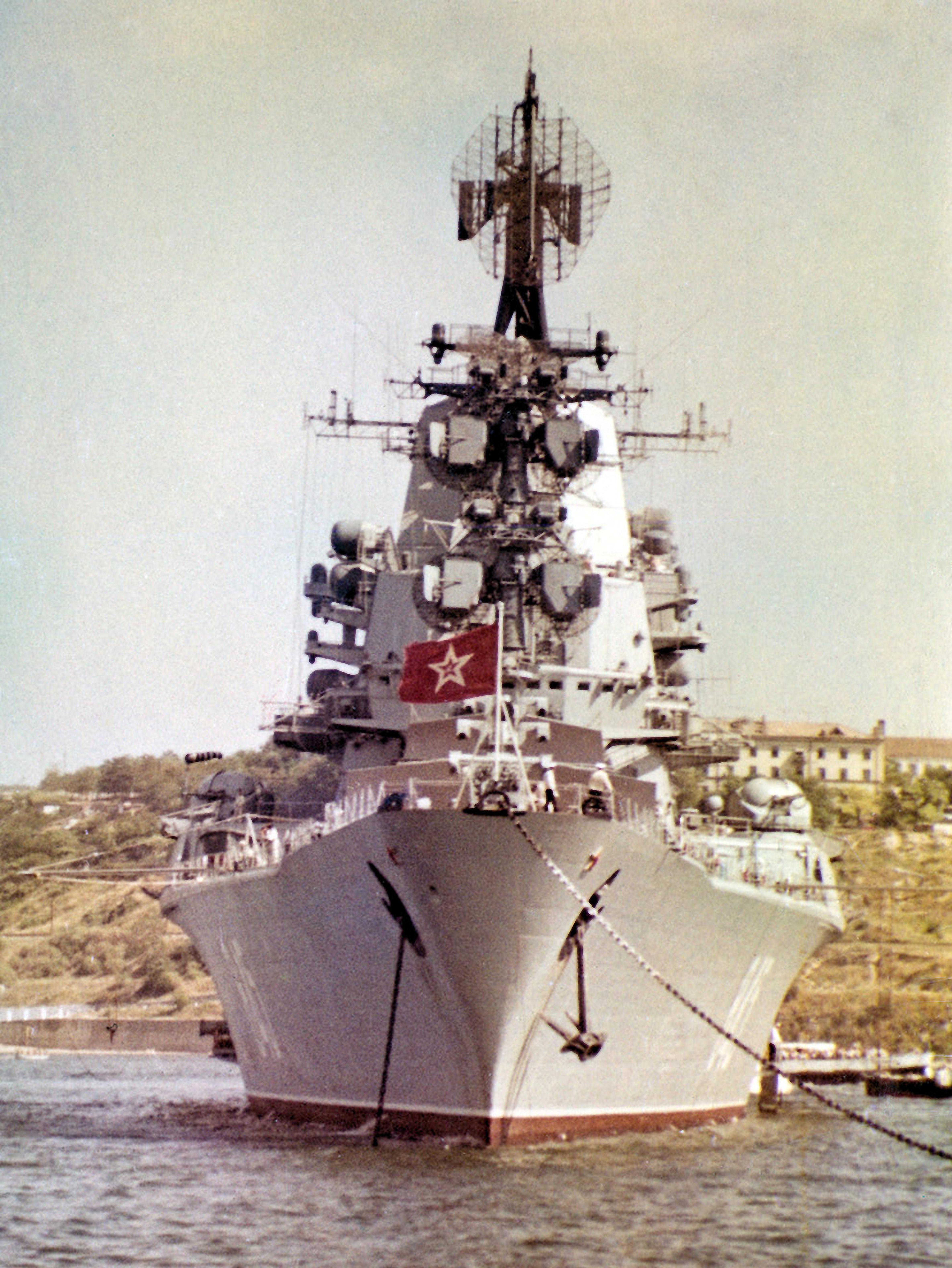 фото крейсера москва вертолетоносца сочетание